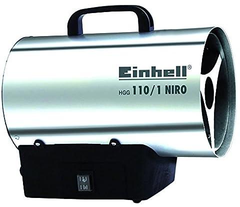 Einhell Heißluftgenerator HGG 110/1 Niro (Nennwärmeleistung 10 kW, Heizmantel aus