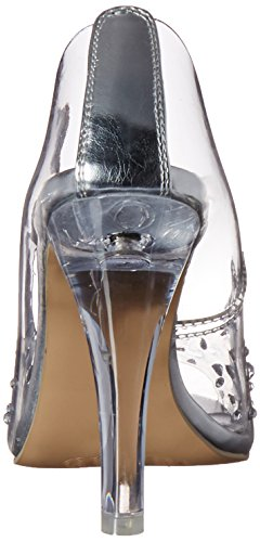 Pleaser Damen Clearly 420 Pumps, Farblos Transparent (Clr Lucite)