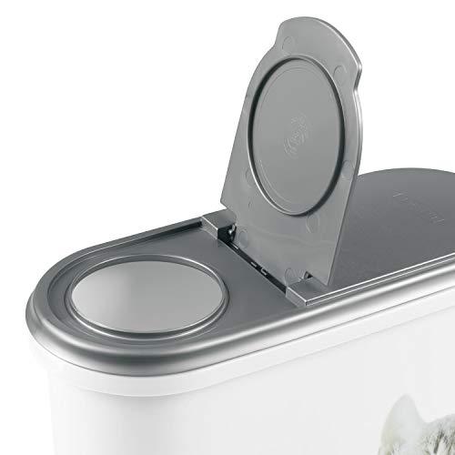 Curver 03903-P82-00 Pet-Futter Container 25 x 10.5 x 30.5 cm, 1.5 kg - 5