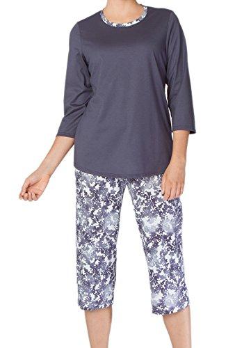 Calida Damen Zweiteiliger Schlafanzug Jodie mystic blue