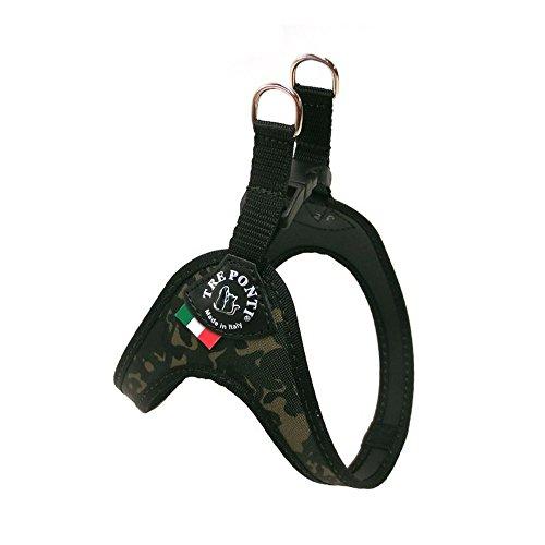 TRE PONTI Bib Easy Fit camouflage m:1-3kg - Museau et laisse pour chiens