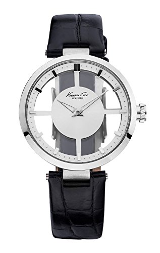 kenneth-cole-womens-quartz-watch-with-white-dial-analogue-display-and-black-leather-strap-kc2649