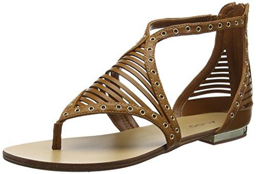 Aldo Women Xenna Ankle Strap Sandals, Brown (Camel), 7 UK 40 EU