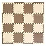 xmtmmd Life Soft Play Mats für Kinder Pure Colour EVA-Schaum Mats Bodenbelag jiasaw Puzzle Mats 16PCS AM106110