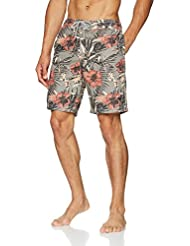 Fat Face Men's Reef Tropical Leaf Deck Shorts