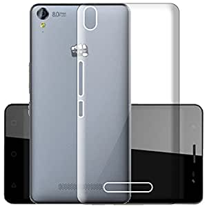 Micromax Canvas Juice 4G Q461 Case Soft Back Cover ,Lightweight,Shock Absorbing Transparent Soft Back Case Cover