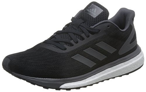 adidas Damen Response LT Laufschuhe Schwarz (Core Black/Grey Five/Footwear White) 39 1/3 EU