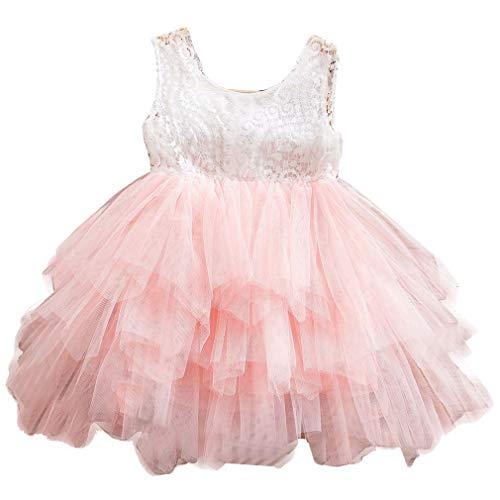mama stadt Kleid Prinzessin Mädchen Ärmellos Tutu Kleider Hochzeit Geburtstagsfeier Party Brautkleider für ()