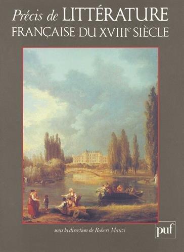 Précis de littérature française du XVIIIe siècle