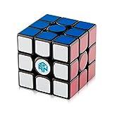 #10: D-FantiX Gans 356 Air Master 3x3 Speed Cube Gan356 Air Magic Cube Puzzles Black with Cube Stand