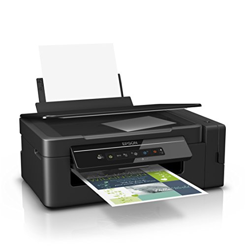 Epson EcoTank ET-2600 nachfüllbares 3-in-1 Tintenstrahl Multifunktionsgerät (Kopierer, Scanner, Drucker, DIN A4, WiFi, USB 2.0) großer Tintentank, hohe Reichweite, niedrige Seitenkosten -