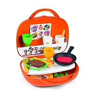 Smoby-44 Gatos Juguete Mini Cocina en maletín 7600310608