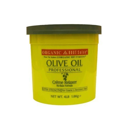 Professional Creme Relaxer (Organic Root Stimulator Olive Oil Professional Creme Relaxer, Extra Strength, 64 Ounce by Organic Root Stimulator)