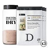 Dietox Dry Mix - 3 variedades de batidos de proteína vegana....