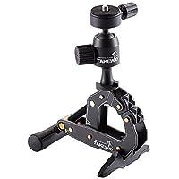 Takeway T1 Digitales/cámaras de película Negro tripode - Trípode (Digitales/cámaras de película, 3 kg, 2 Pata(s), 16,4 cm, Negro, 5 cm)
