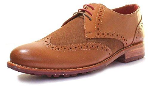 Justin Reece Kieran, Chaussures de ville à lacets pour homme peau