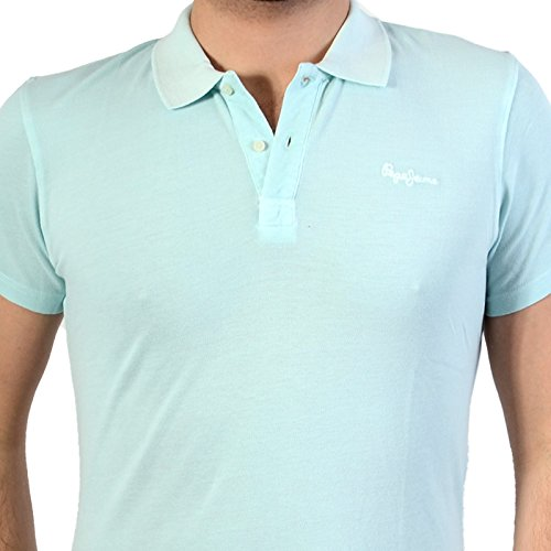 Pepe Jeans Polo-Hemd Ernest New Glass 509 Bleu