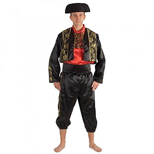 Krause & Sohn Spanier Kostüm Torero Deluxe Fasching Stierkäpmfer Andere Länder Spanien (L)