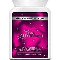 TRUE ATTRACTION PHEROMONE PILLS FOR WOMEN PÍLDORAS FEROMONA ATRACCIÓN PARA MUJERES - te hace irresistible para los hombres