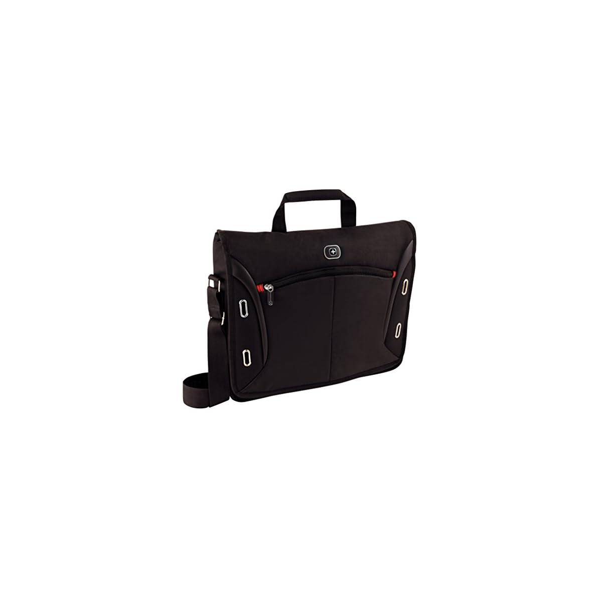 """41ygTrkFulL. SS1200  - Wenger 600665 Developer - Mochila con Compartimento Acolchado para portátiles (15.4"""") Color Negro"""