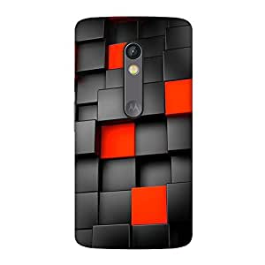 FASHEEN Premium Designer Soft Case Back Cover for Motorola Moto X Play