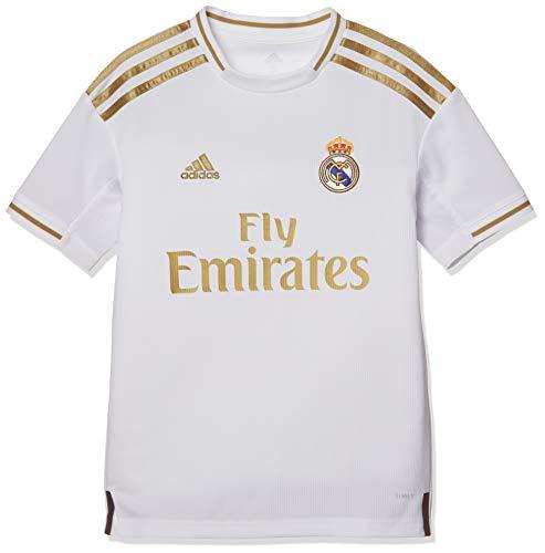 adidas Real H JSY Y Camiseta, Unisex niños, White, 140 (9/10 años)