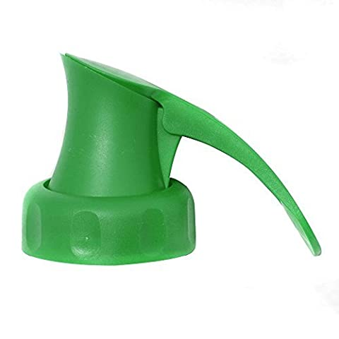 2 x Green Topster Milk Top Pourers by Caraselle