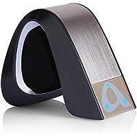 Mini Lautsprecher, YOKKAO portable Wireless Bluetooth Stereo Speaker unterstützt TF Karte mit Mikrofon für iPhone/Smartphones/ Tablets/PC/Laptop - (OP1003)