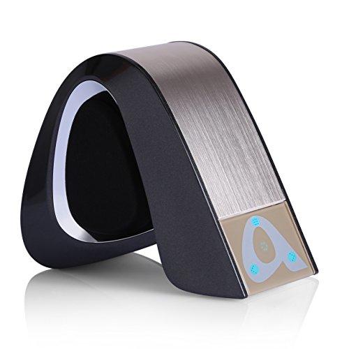 Altavoz Bluetooth, YOKKAO Mini Altavoz Inalámbrico Estéreo con Control Táctil y Micrófono Incorporado, con Puerto AUX/ micro SD, Alta Calidad de Sonido para Smartphones iPhone/Android/ Huawei/ Xiaomi/ iPod/ iPad/ Tablets y MP3