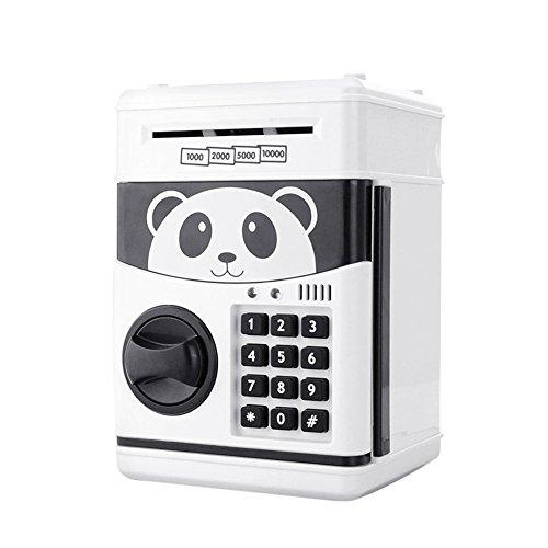 YARBAR Contraseña dinero electrónico caja del ahorro de la moneda en efectivo puede Segura cajeros automáticos del Banco de la novedad de la lata para los niños como