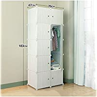 Semplice combinazione armadio in plastica ABS Environmental Protection resina moderno semplice Assemblea armadio Fold armadio Combinazione