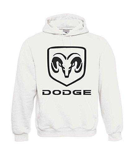 kapuzenpullover-dodge-viper-m-weiss