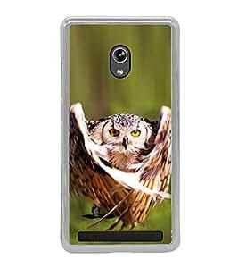 Prowling Owl 2D Hard Polycarbonate Designer Back Case Cover for Asus Zenfone 5 A501CG :: Asus Zenfone 5 Intel Atom Z2520 :: Asus Zenfone 5 Intel Atom Z2560