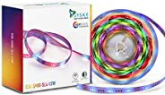 Syska Smart Wi-Fi Enabled 5M 12W 16miilion Color Strip Light Compatible with Amazon Alexa and Google Assistant