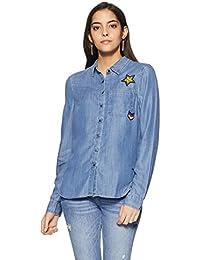 VERO MODA Women's Button Down Shirt