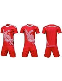 1a9a719412f75 LQZQSP Uniformes Masculinos Camisetas De Fútbol Equipo Deportivo  Survetement Camiseta De Entrenamiento De Fútbol Atletismo Correr Ropa…