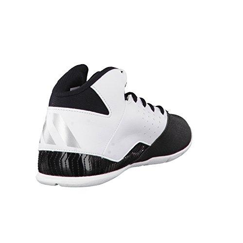 adidas Nxt Lvl Spd V Nba K, Scarpe Da Basket Unisex – Bambini Nero (Negbas/Ftwbla/Plamet)