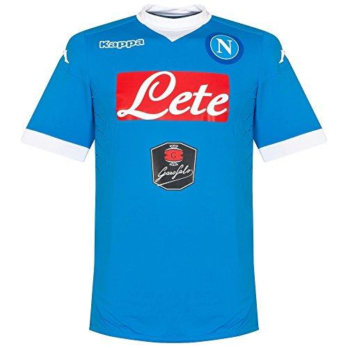 Maglia ufficiale SSC Napoli stagione 2015-2016, SOCCER KOMBAT 2016 KAPPA, Adulto (M)