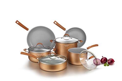 COOKSMARK Set de poêles et casseroles Aluminium avec...