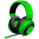 Razer Kraken Pro V2: Lightweight Aluminum Headband - Retractable Mic - In-Line Remote - Gaming Headset Works With PC, PS4 & Mobile Devices - Green