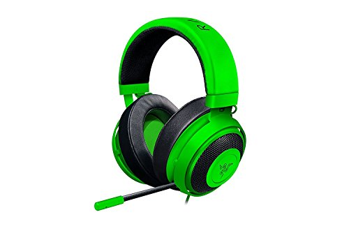 Razer Kraken Pro V2 Oval Cuffie da Gaming Analogiche Over-Ear, per PC, PS4, Verde