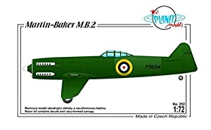 Planet Models plt252 - Maqueta de Martin de Baker MB de 2 British Fighter protot