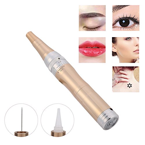 Permanent Lippen-make-up (Augenbrauen Lippe Eyeliner Tattoo Maschine Permanent Makeup Rotary Patrone Pen Körper Kunst Beauty Tool)