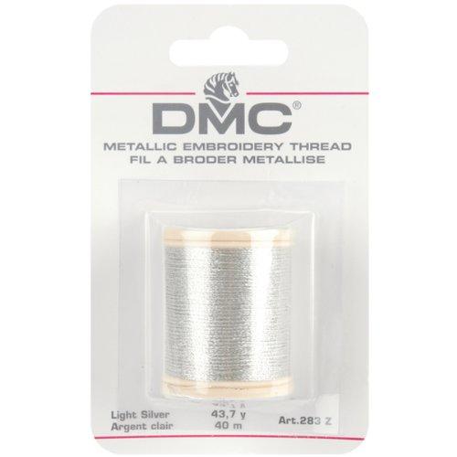 DMC 43,7 métalliques de fil de broderie verges-Light Silver