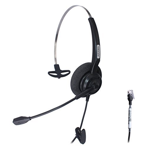 arama-wired-headset-mono-w-noise-canceling-mic-for-nec-aspire-dterm-nortel-norstar-meridian-plantron