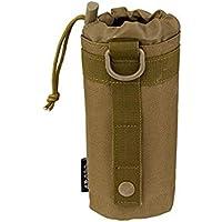 naisecore Exterior táctico Molle Militar Bolsa Porta Botella de Agua Sistema–Tan, Equipaje