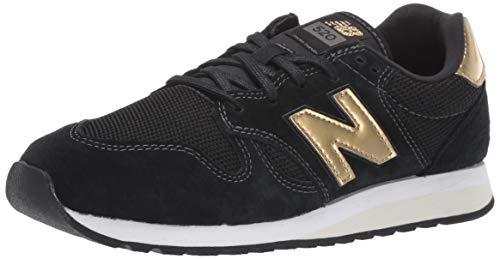 0 Sneaker, Schwarz (Black/Classic Gold Gdb), 39 EU ()