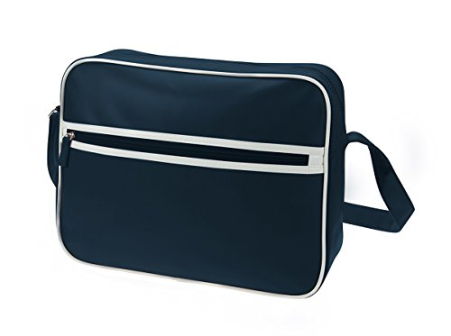 Shoulder Bag Retro - Borsa in ecopelle Blu