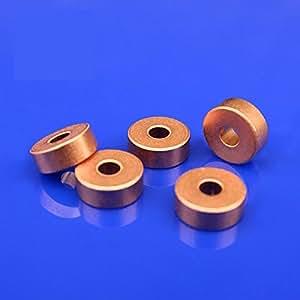Generic 4*12*4. 5mm iron Copper base powder metallurgical parts Powder Metallurgy oil bushing porous bearing Sintered copper sleeve