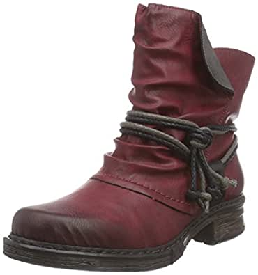 Rieker Z9983 Damen Halbschaft Stiefel: Amazon.de: Schuhe
